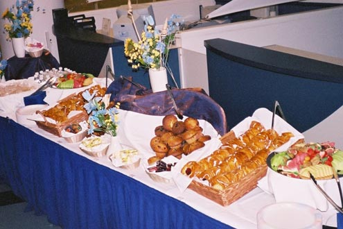 Good Morning Vancouver Continental Catered Breakfast Menu