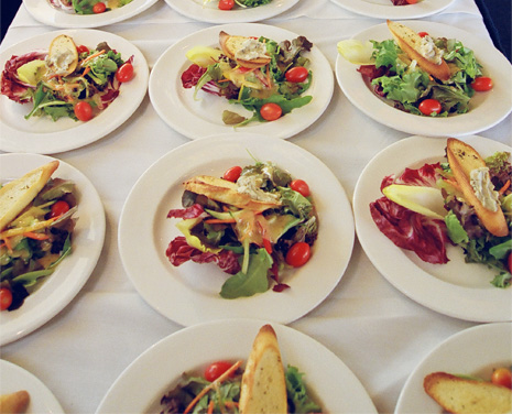Best caterers Vancouver, Just Right, rise to the occasion and complete another successful event.