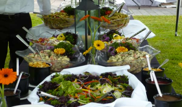 Seasonal Salads and Veggie Platters